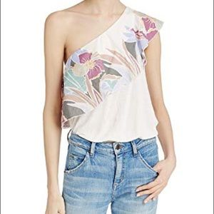 NWT Free People Annka one-shoulder Top